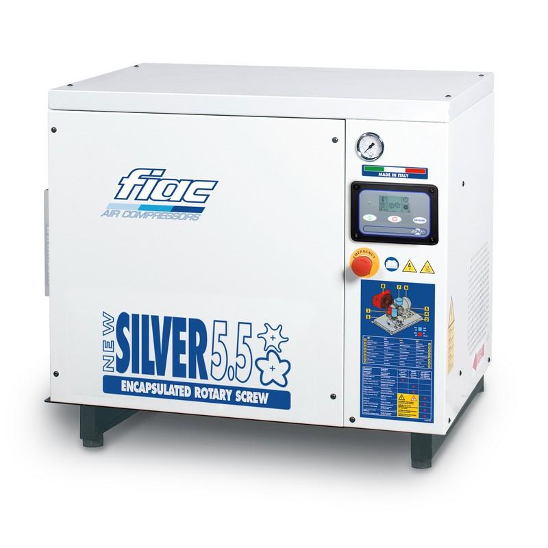 NEW SILVER 10 zajszigetelt csavarkompresszor