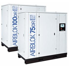 Airblok DR nagy levegő teljesítményű direkt meghajtású csavarkompresszor család
