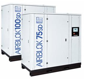 Airblok SD inverteres csavarkompresszor az ipari felhasználás energiaigényeihez