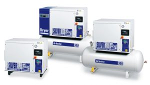 New Silverline ipari csavarkompresszor sorozat termékei